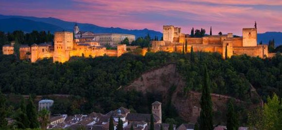 Viaje de estudios, Granada, Córdoba y Sevilla